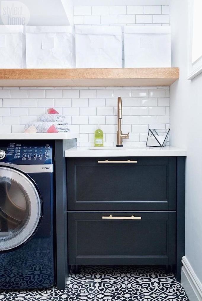 top 25 ideas about laundry room tile on pinterest. Black Bedroom Furniture Sets. Home Design Ideas
