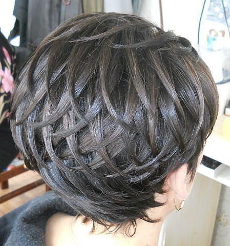 Укладка коротких волос / Прически / ВТОРАЯ УЛИЦА