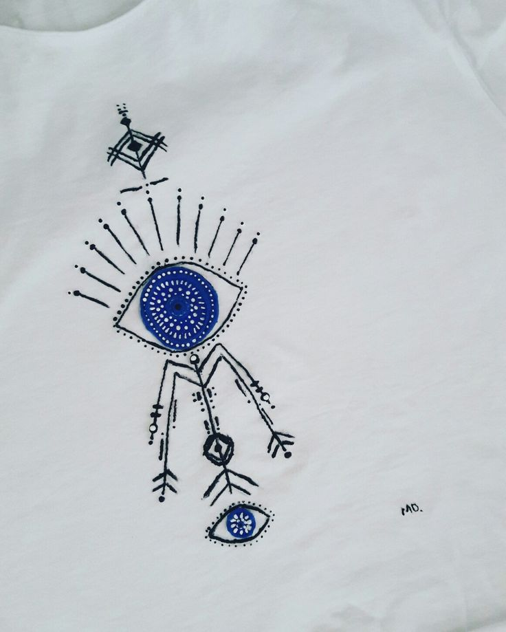 #handpaintedtshirt, #evileye handpainted tshirt  hand painted t shirt, cotton fabric, non-toxic, water based, permanent fabric colors