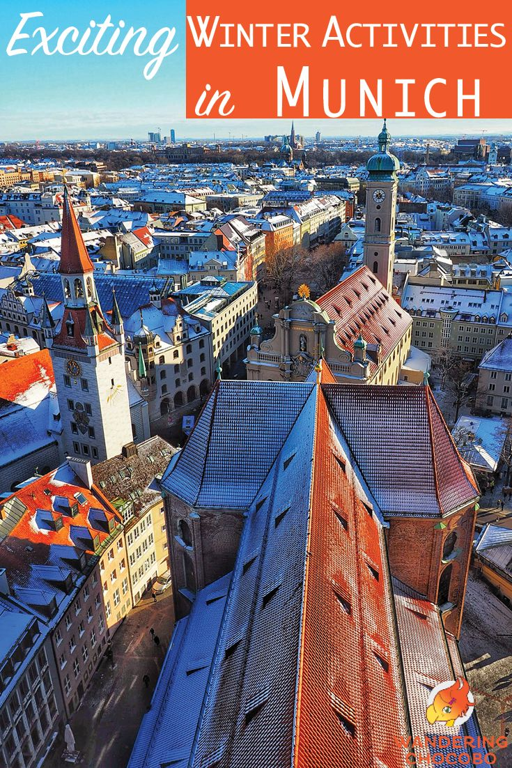 Exciting things to do during the Winter in Munich, Germany. Enjoy thrilling outdoor winter activities like sledding and skiing, curl up with a good book at a library, experience rich culture at the theater or stay warm in a hot sauna. There's a winter activity for everyone in Munich. via @wanderingchoco