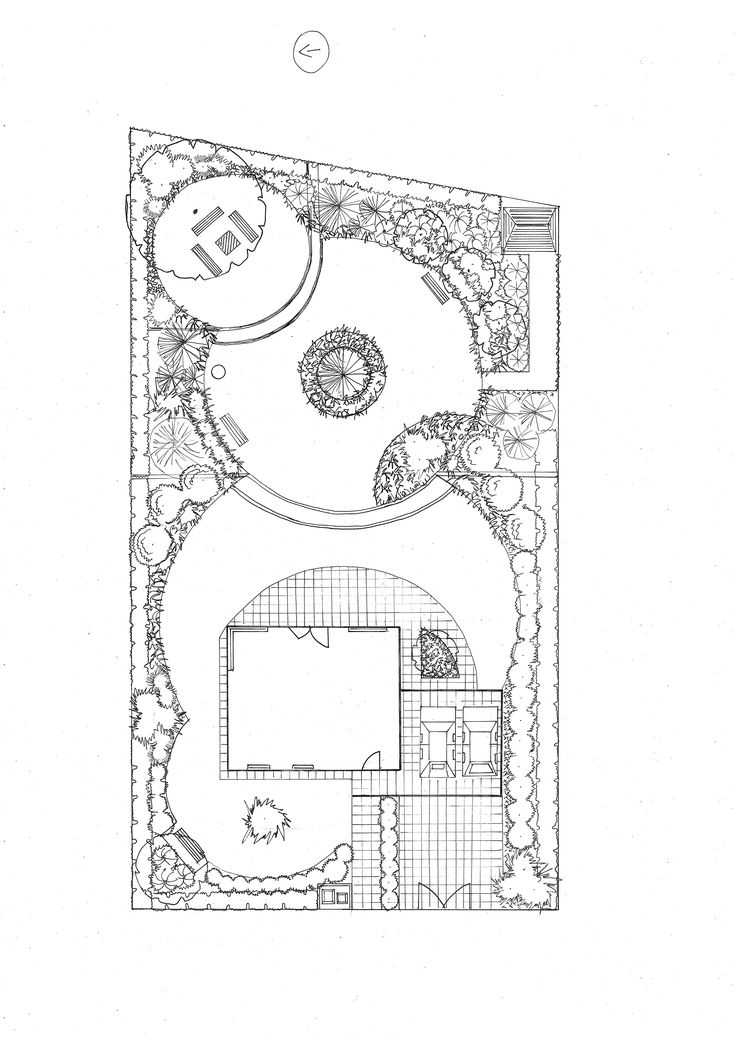 Návrh zahrady Berounsko