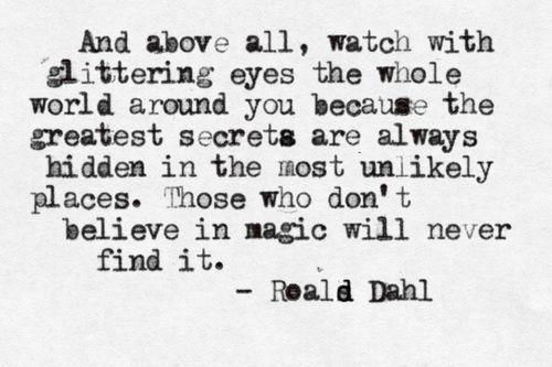 Magic by Roal Dahl