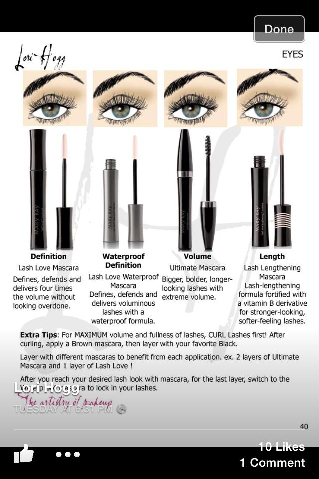 17 Best Mary Kay Eye Lashes Amp Eye Brows Images On