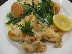 My Thermomix Kitchen - Blog for healthy low fat Weight Watchers friendly recipes for the Thermomix : Garlic, Lemon and Rosemary Chicken