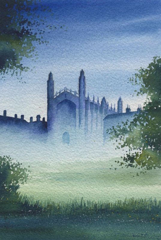 Cambridge - Ian Scott Massie: a painter and printmaker based in North Yorkshire,