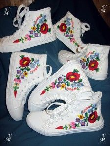 Erikáék cipői