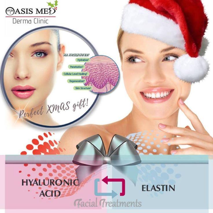 Αφεθείτε στη λάμψη των Χριστουγέννων με #ΥΑΛΟΥΡΟΝΙΚΟ, EXPRESS🕙ΘΕΡΑΠΕΙΑ ΠΡΟΣΩΠΟΥ! ✨ https://dermaclinic.oasismed.gr/el/epikoinwnia  ☎ (+30)2810 301777 - - - - - - - - - - - - - - - - -  #Hyaluronic Acid Facial Treatment🎄🎁The Perfect XMAS Gift! 🎁🎄 . #ελαστίνη #ομορφιά #λαμπερή #επιδερμίδα #χριστούγεννα #γιορτές #αντιγήρανση #κολλαγόνο #σύσφιξη #δερματολόγος #Αισθητική #Ιατρική #δερματολογικό #λάμψη #πρόσωπο #κρήτη #ηράκλειο #χανιά #ρέθυμνο #άγιοςνικολαος #TreatYourself