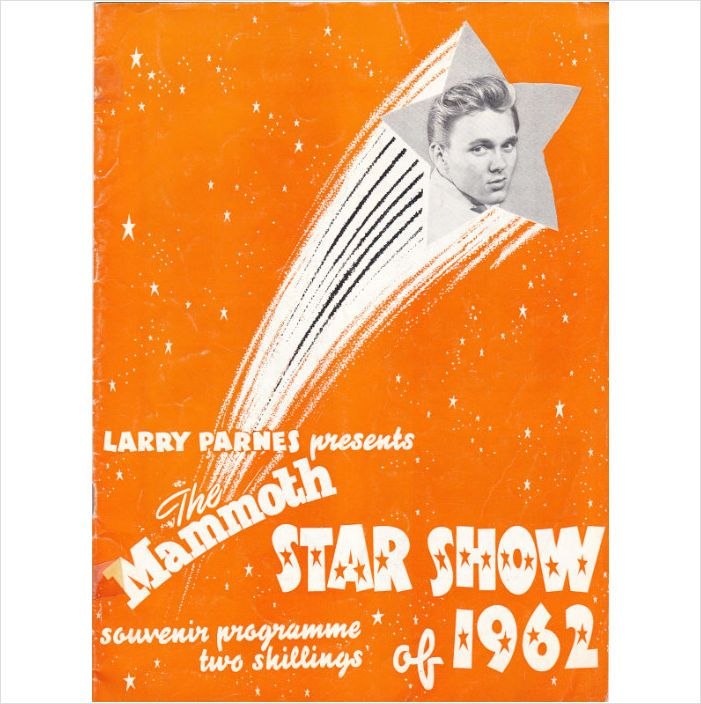 The Mammouth Star Show of 1962 with Billy Fury & Marty Wilde on eBid United Kingdom