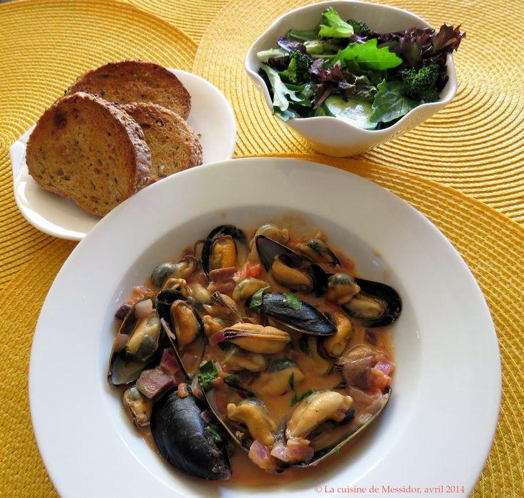 La cuisine de Messidor: Moules à la provençale