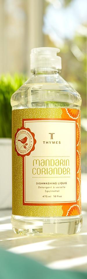 Pin-It-To-Win-It: Thymes Mandarin Coriander Dishwashing Liquid