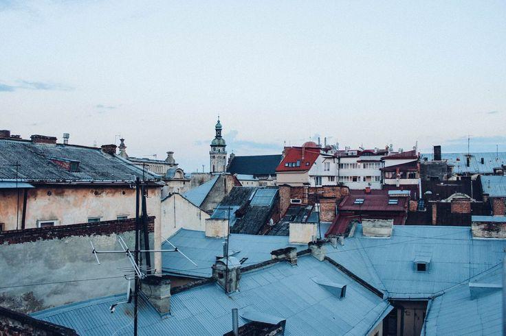 Первые дни путешествия Lviv / Ukraine