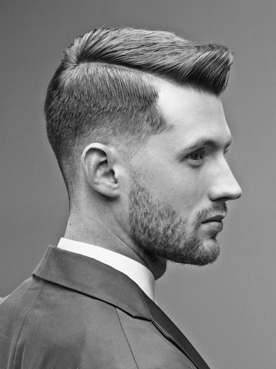 """Hair Trends From Around The World.  Sometimes we forget to """"Pin for the MEN.""""  Not today.  Who wouldn't love this look.  It's so dapper."""