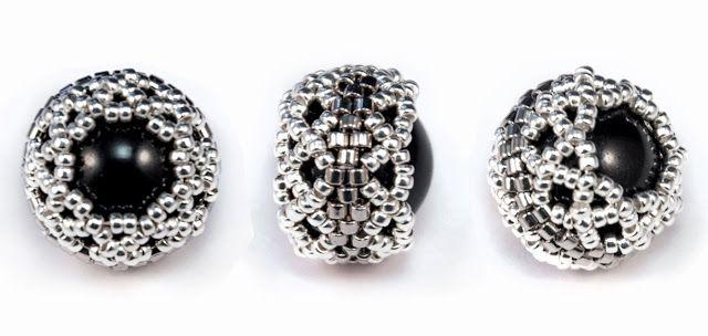 * Galina Dietrih: МК: Ажурное оплетение ювелирных кристаллов и жемчуга Сваровски