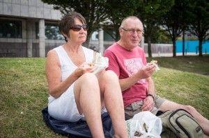 """""""I like the cut of her jib."""" #cardiff #wales #jib #couple"""
