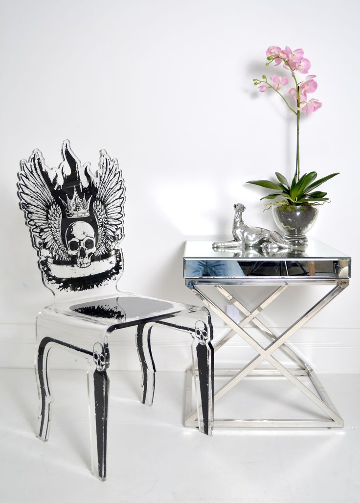 skull furniture for sale | Let's Rock Chair - Skull | Sweetpea and Willow