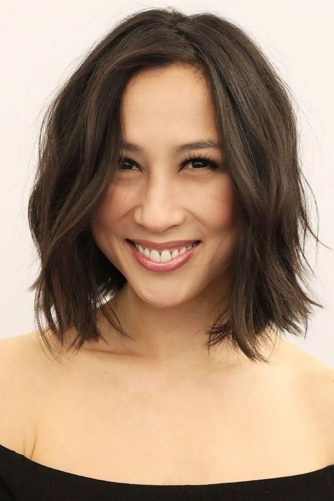 46 Bob With Bangs Hairstyle Ideas Trending For 2019 In 2020 With Images Oval Face Haircuts Oval Face Hairstyles Face Shape Hairstyles