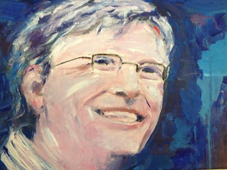 Bill Gates - Microsoft co-founder     Rui Oliveira    2012