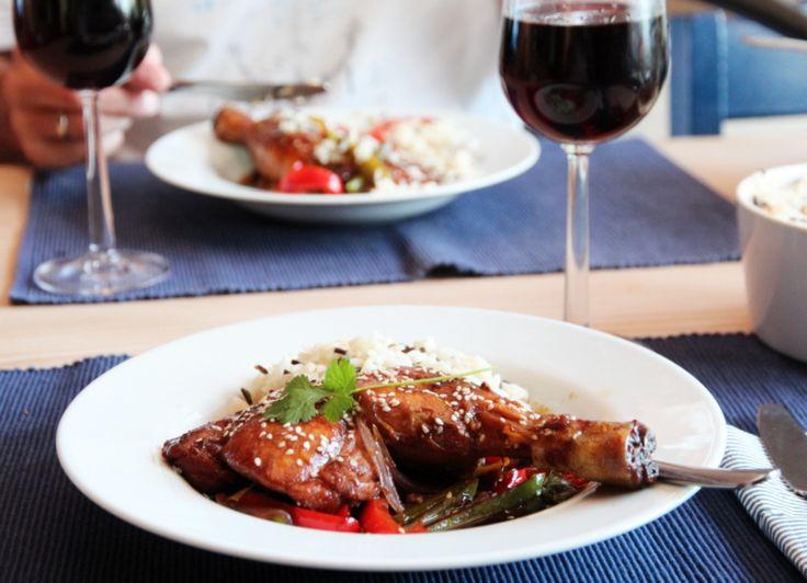 Kyllinglår med spicy soyasaus