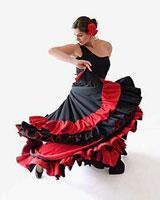 Платье для тангоса фламенко