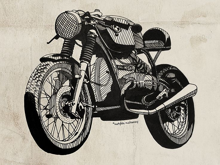 #graphicdesign #motorcycles #motos   caferacerpasion.com