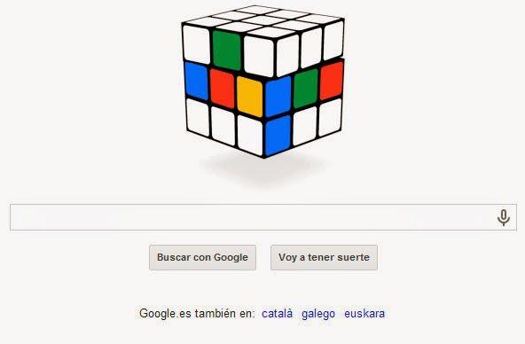 Solución Rubik: 40º Aniversario del cubo de Rubik Doodle rubik