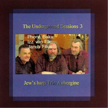 """Jew's Harp Trio Aubergine - The Underground Sessions III - Autumn (2008) The """"Jew's Harp Trio Aubergine"""" comes from the region Zeeland in the Netherlands. The subtitle of the third part of this quadrology is called Autumn. #guimbarde #jewsharp #maultrommel #musique"""