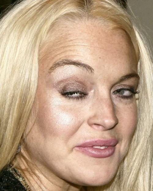 Lindsay Lohan... drugs... Oi Vey
