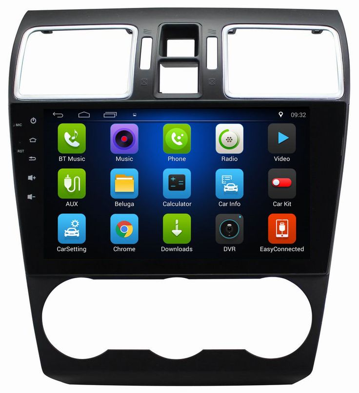 Ouchuangbo car multimedia system for Subaru XV 2015 with android 6.0 radio gps bluetooth AUX wifi USB