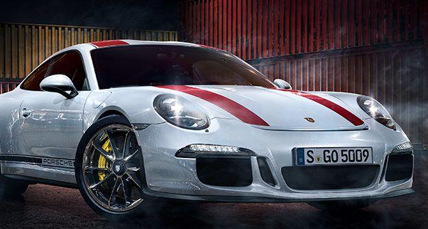 Porsche sports car, designed with NVIDIA Iray Technology