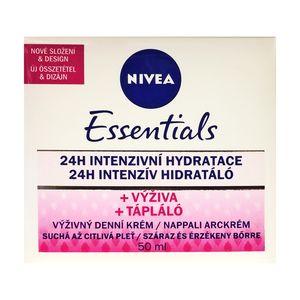 Nivea Essentials Nourishing 24h Intensive Hydrating Day Cream for Dry to Sensitive skin 50ml 1.69 fl oz