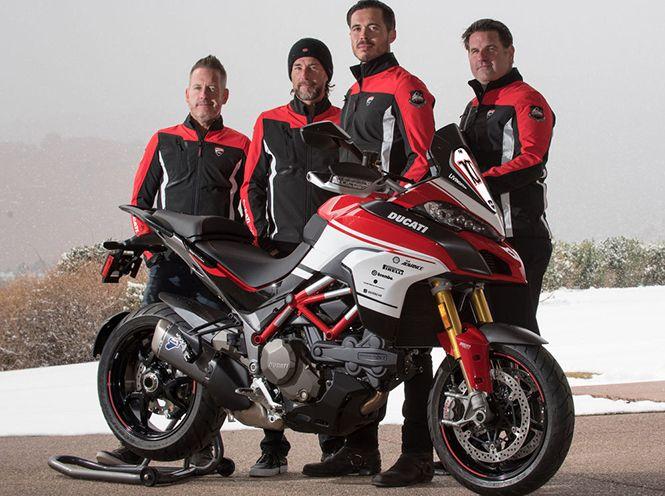 Ducati Multistrada 1200 Pikes Peak 100 Anniversary Replica Kit Unveiled