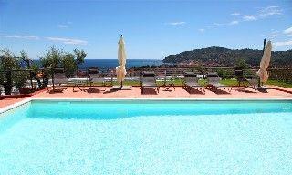 Villa il Poggiolo Diano Marina in Diano Marina (ViP-Panorama-2 apartment) mieten - 405272
