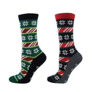 Christmas Pattern Non Skid Socks / Women's