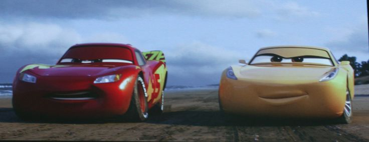 Lightning McQueen and Cruz Ramirez from Cars 3