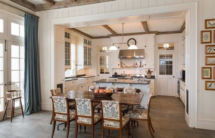 Ideas on Pinterest  French kitchens, Open shelving and Cabinets
