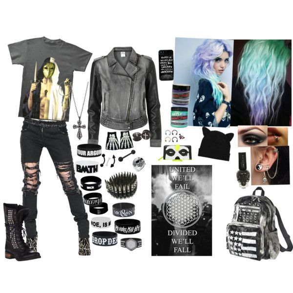 Bring Me The Horizon Outfit My Polyvore Creations Pinterest The O 39 Jays Outfit Sets And