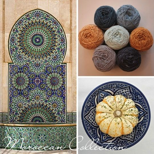 Moroccan Collection for the I Love Yarn CAL 2014/2015. Contact info@iloveyarn.co.za for more information.