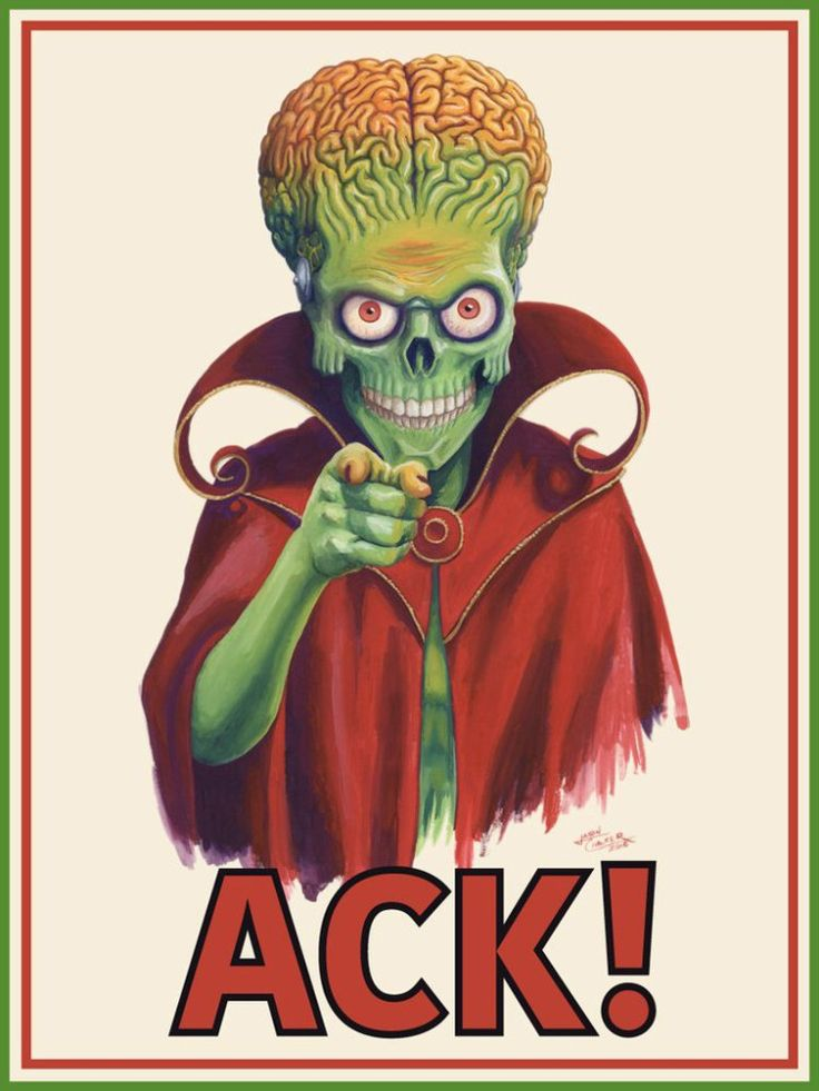 Jason Chalker - ACK! I Want You! | Mars Attacks