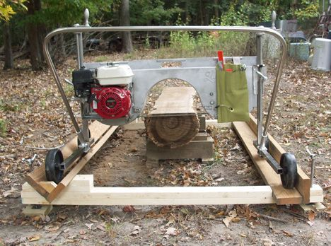 Old Steam Powered Portable Sawmill