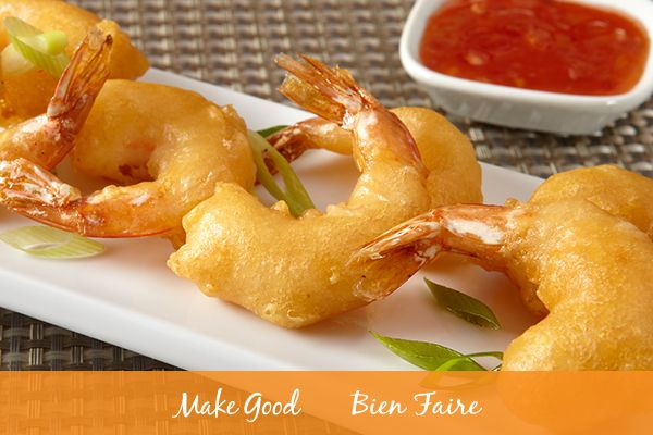 Would you go with sweet or spicy sauce to compliment our Chinese Batter Fried Shrimp? This dish of fried deliciousness can be paired best with a sweet plum sauce or a spicy mustard sauce! Celebrate Chinese New Year and make sure you check out Checkout 51 for deals on the ingredients and find the recipe here: https://makegood.ca/recipe/chinese-batter-fried-shrimp  #makegood #recipe #dinner #foodie #cooking #recipes #shrimp #chinesenewyear #yearofthedog