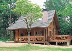 Cottage Kits With Prices   Log Cabin Kit Homes . . . Kozy Cabin Kits!