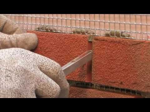 Make a Fake Wall with Bostik Brick Effect Render - YouTube