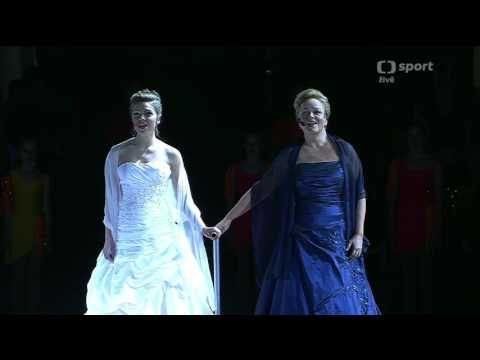 Patricia Janeckova - National Anthem - European Figure Skating Championships - 2017 - YouTube