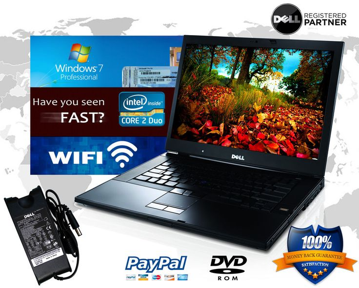59 best computer images by ect data on pinterest windows 10 e bay dell latitude laptop e6400 core 2 duo wifi dvdcdrw win 7 pro notebook computer fandeluxe Images