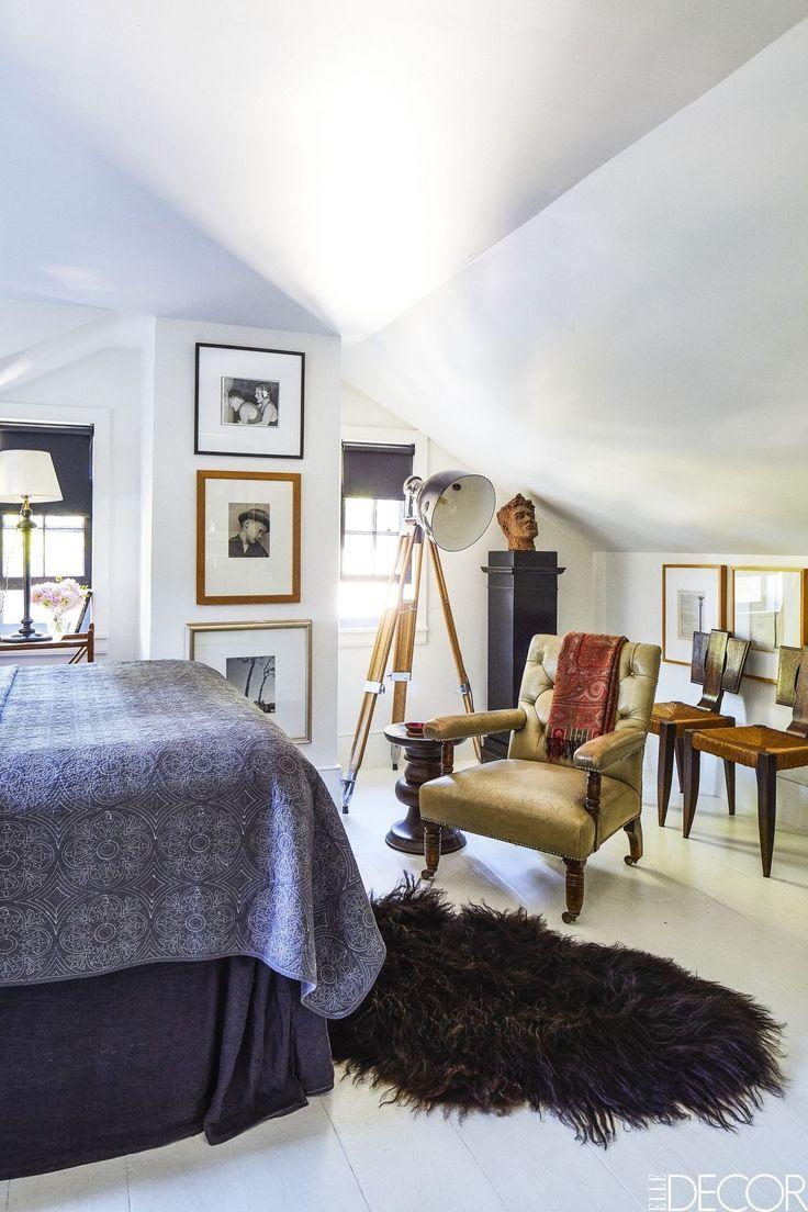 Elle decor master bedroom   best Living room images on Pinterest  Apartments Banquette bench