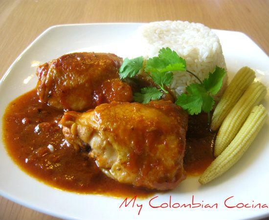 My Colombian Cocina - Pollo con Coca Cola