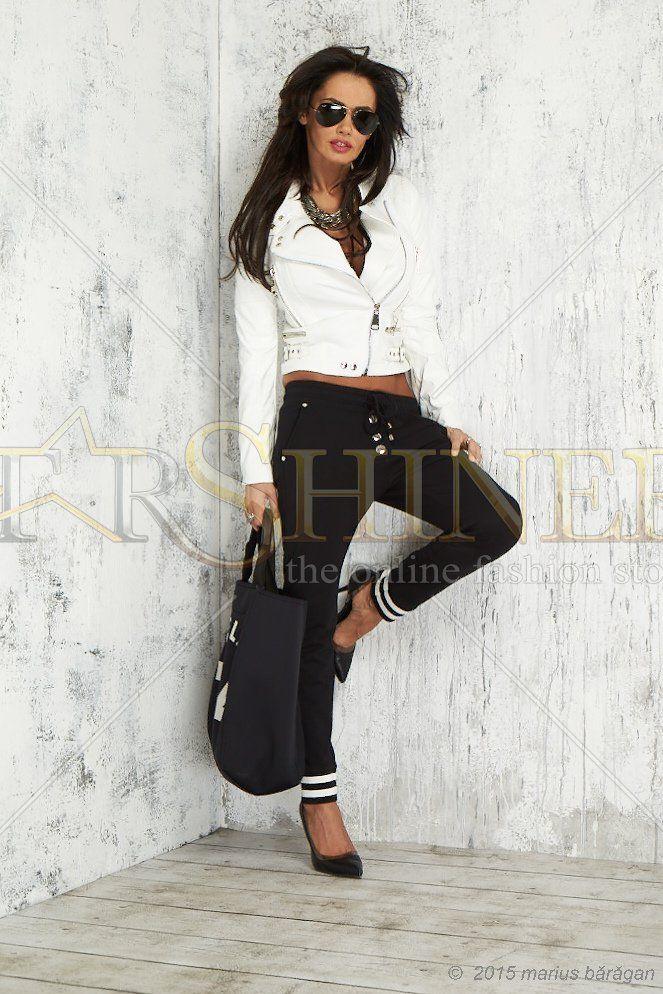 Mexton Classic Trend Black Trousers