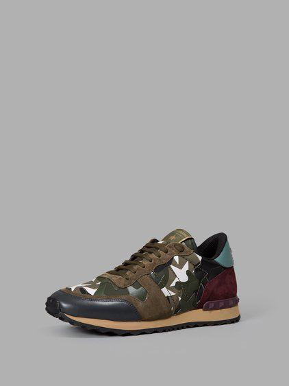 VALENTINO Valentino Men'S Multicolor Sneakers. #valentino #shoes #sneakers