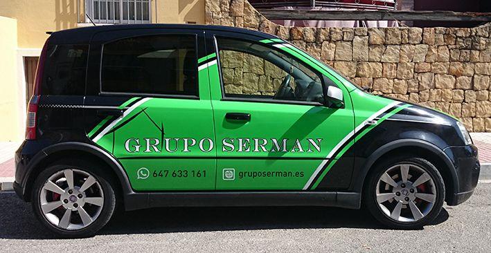 Fiat Panda Grupo Serman lateral