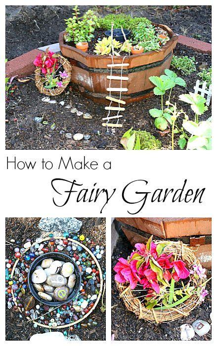 2908 Best Fairy Gardens Images On Pinterest